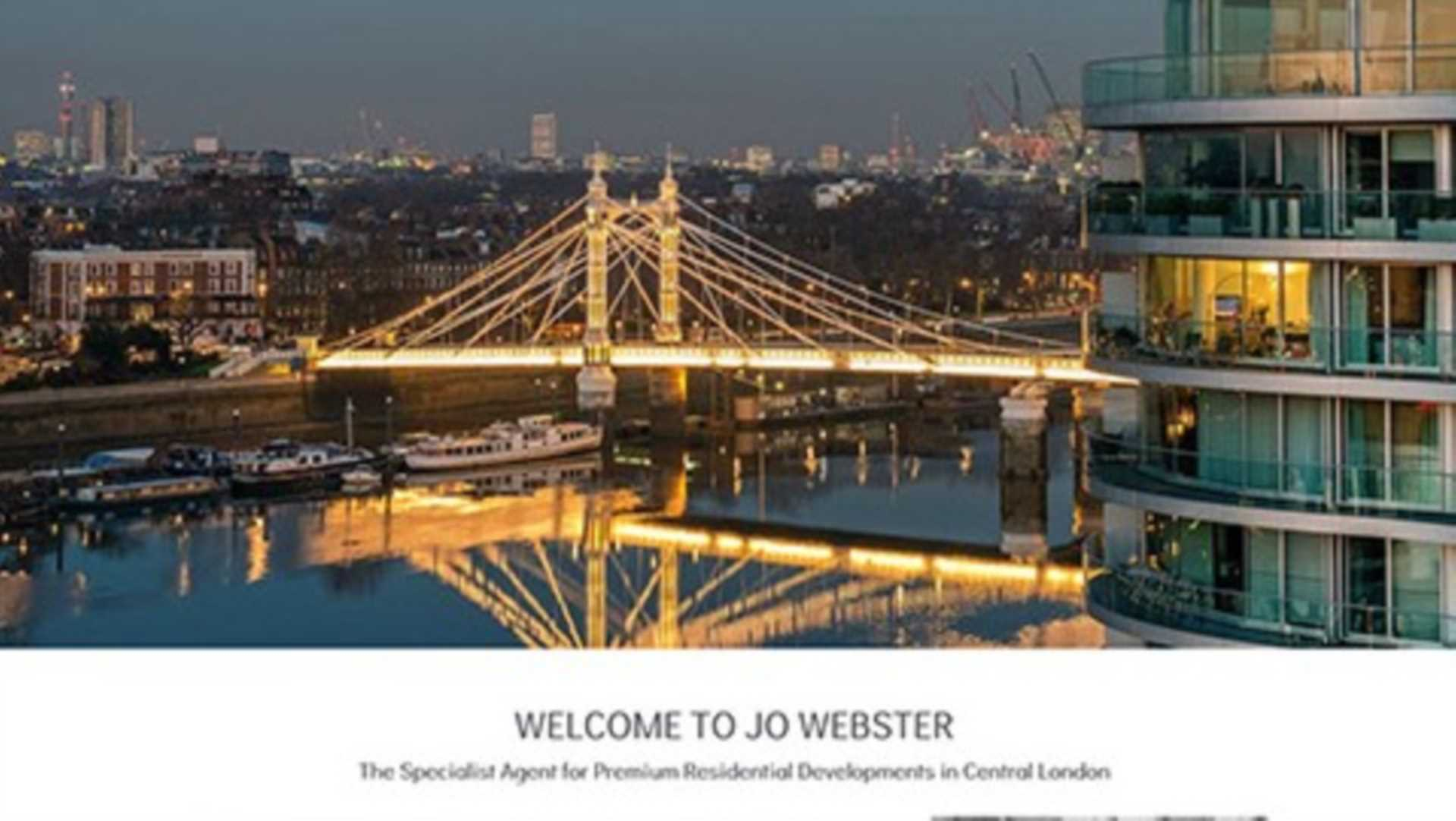 Jo Websters New Website