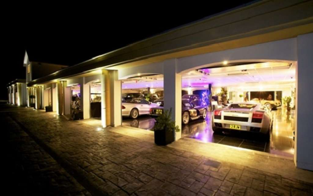 Garages Of The Rich And Famous