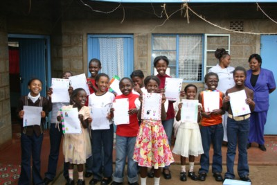 Lesters Support Keyna Children Centres