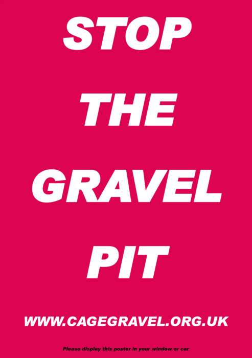 It's Not Too Late To Stop  Gravel Pits Here!