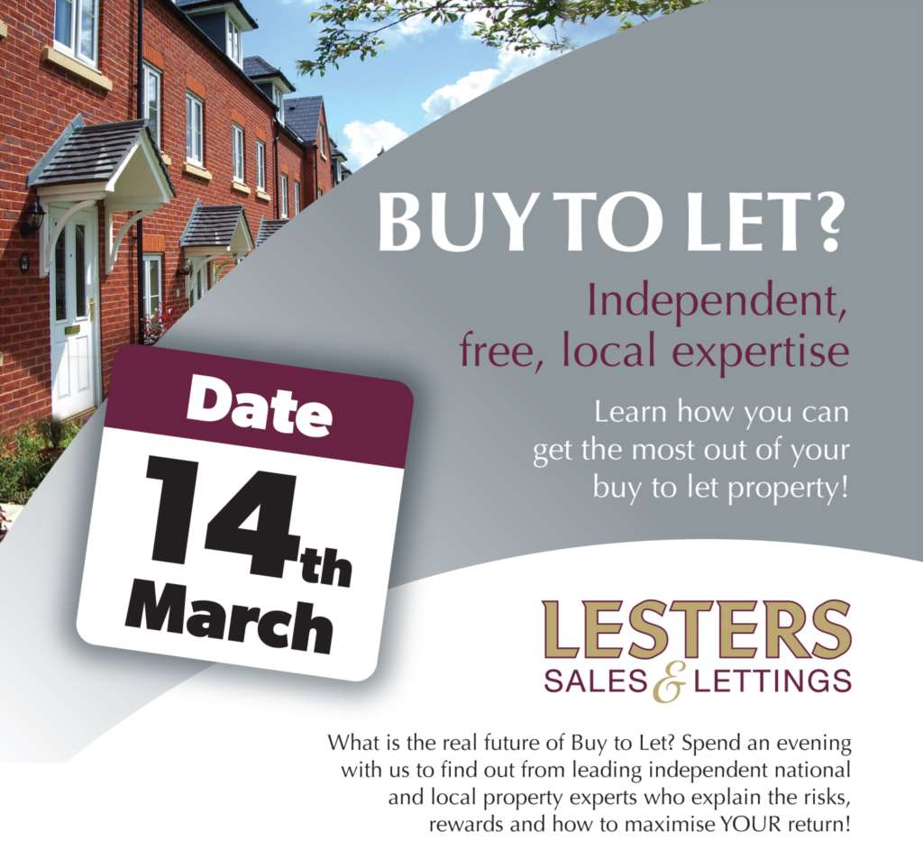 Lesters `Buy To Let Evening` A Great Success
