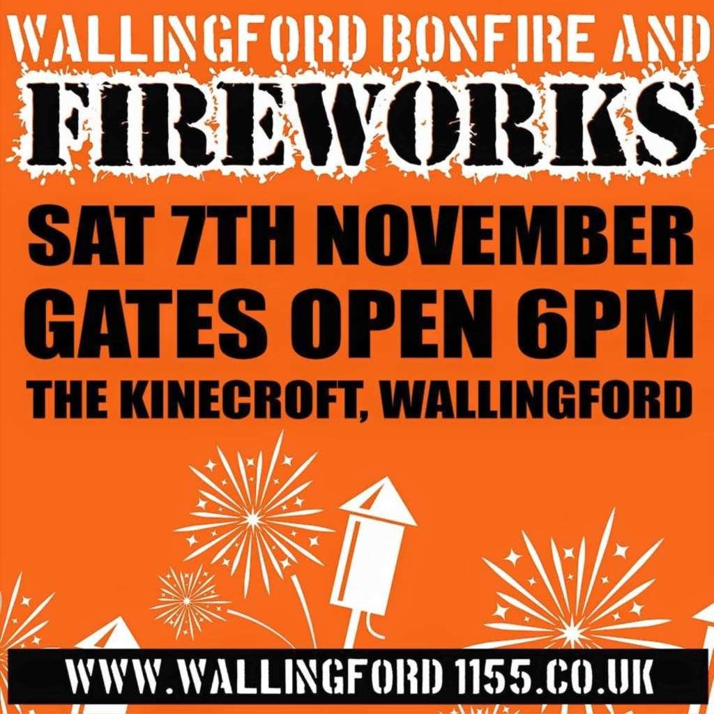 Wallingford`s bonfire night