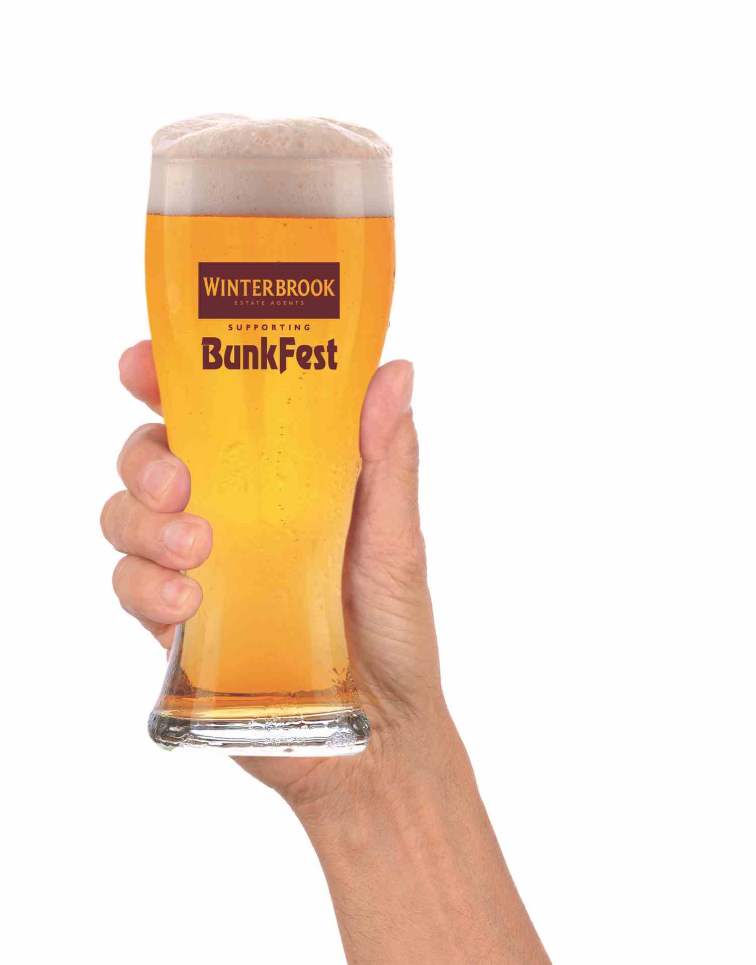 Collect your 2016 Bunkfest beer glass early