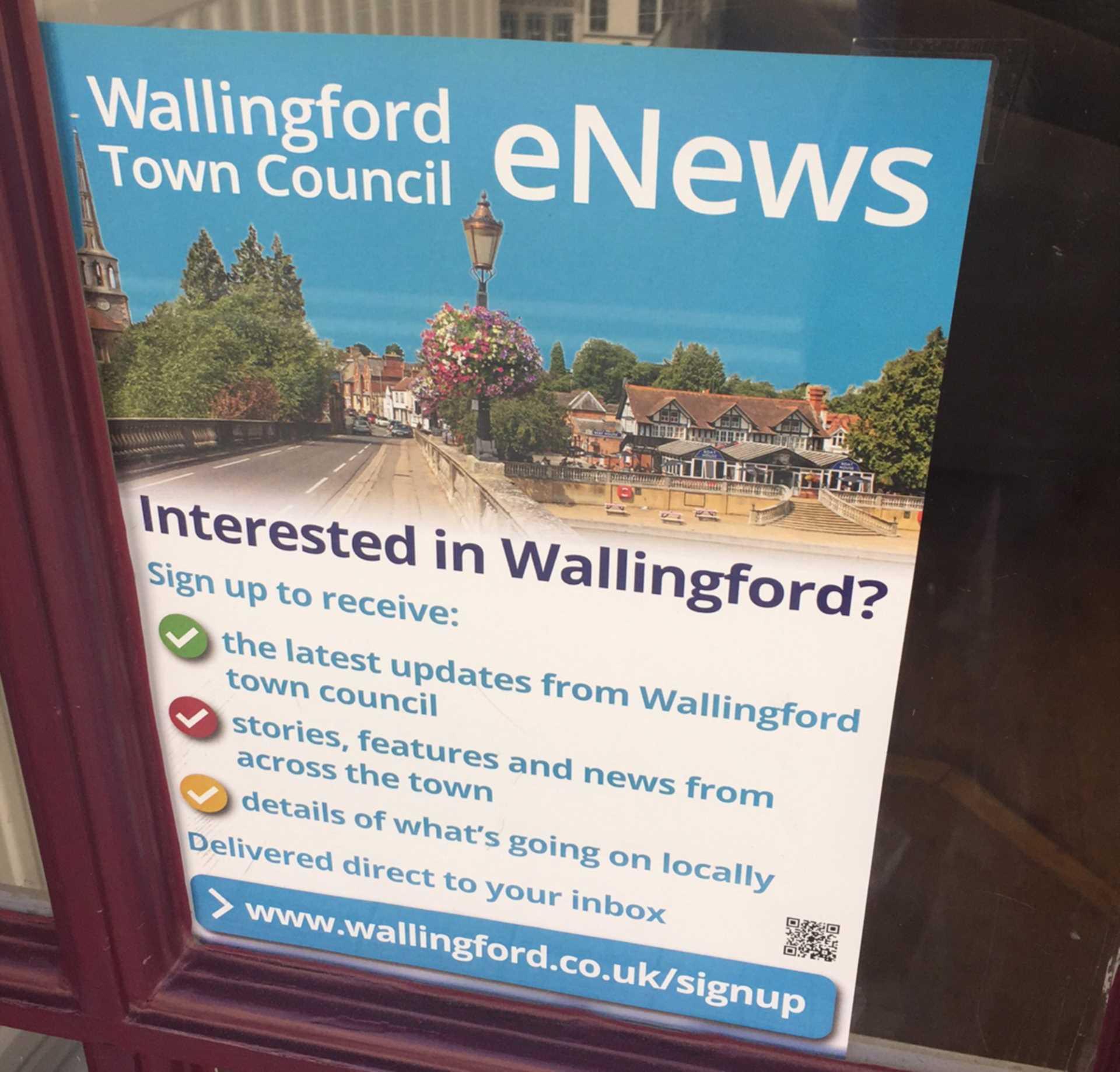 Want to find out what`s happening in our town?