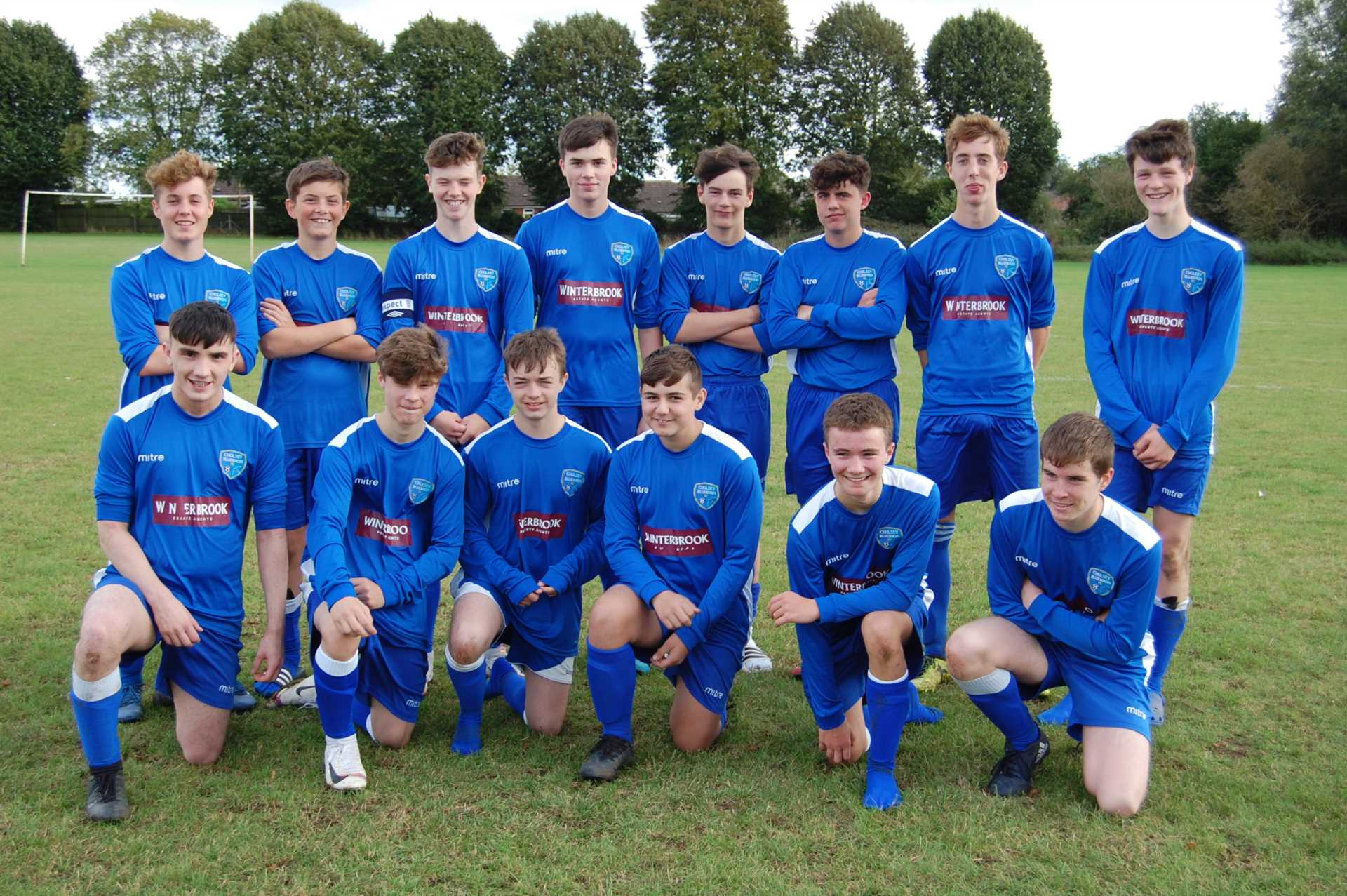 Proud continuing sponsors of Cholsey Bluebirds under 16`s
