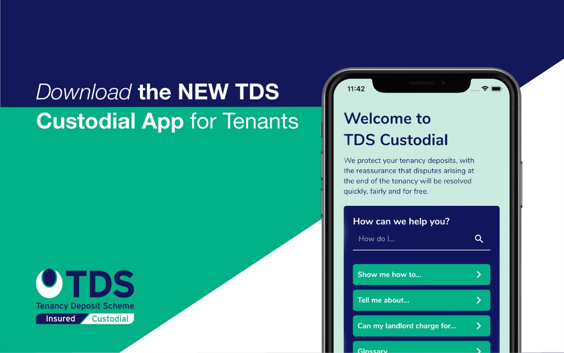 Help for tenants with their deposits from TDS