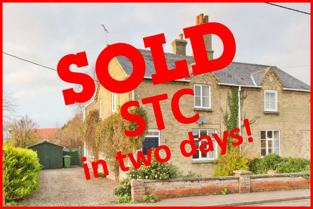Sold STC in only two days.