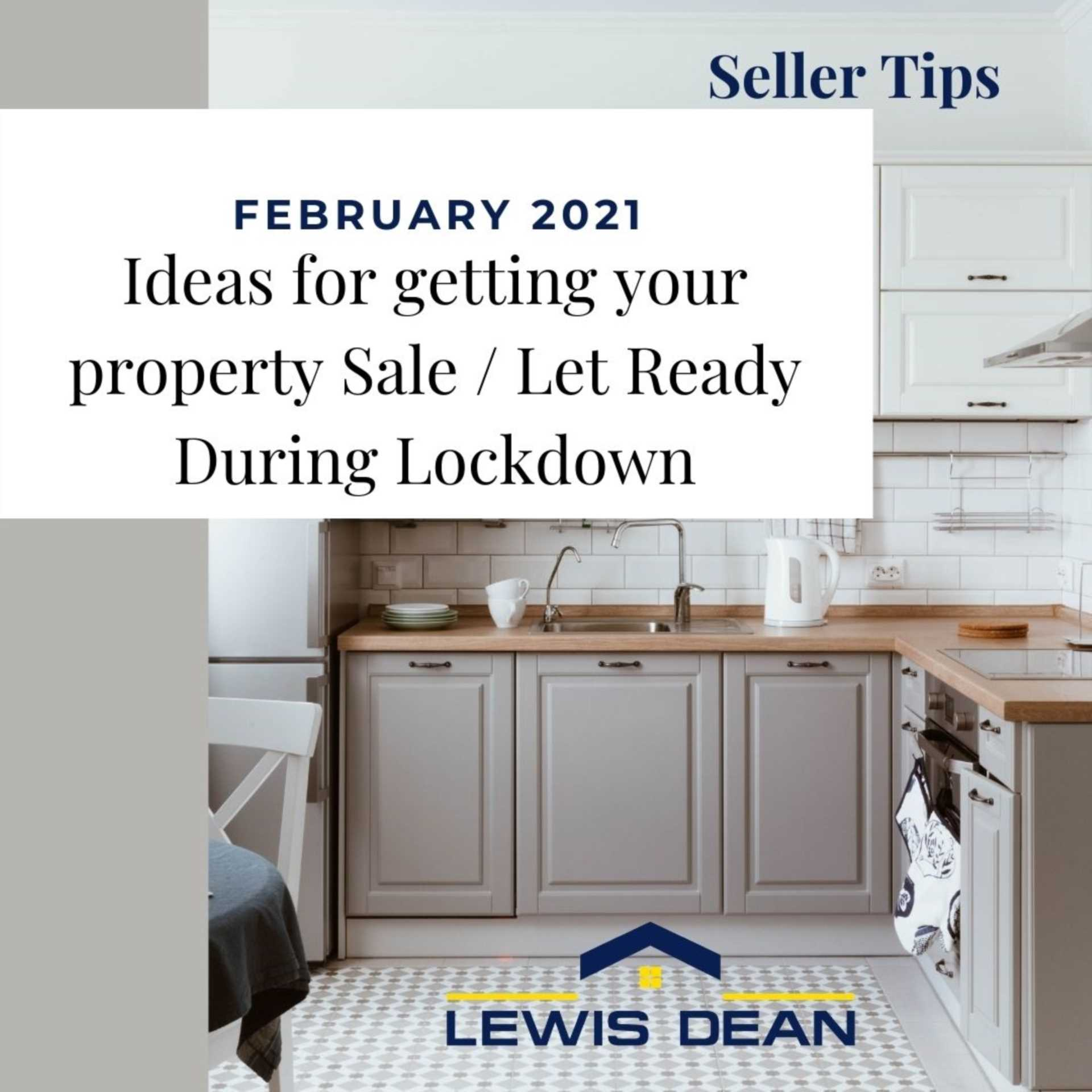 Poole Seller/Landlord Tips - Organise Your Home To Get Ready for Selling /Letting During Lockdown