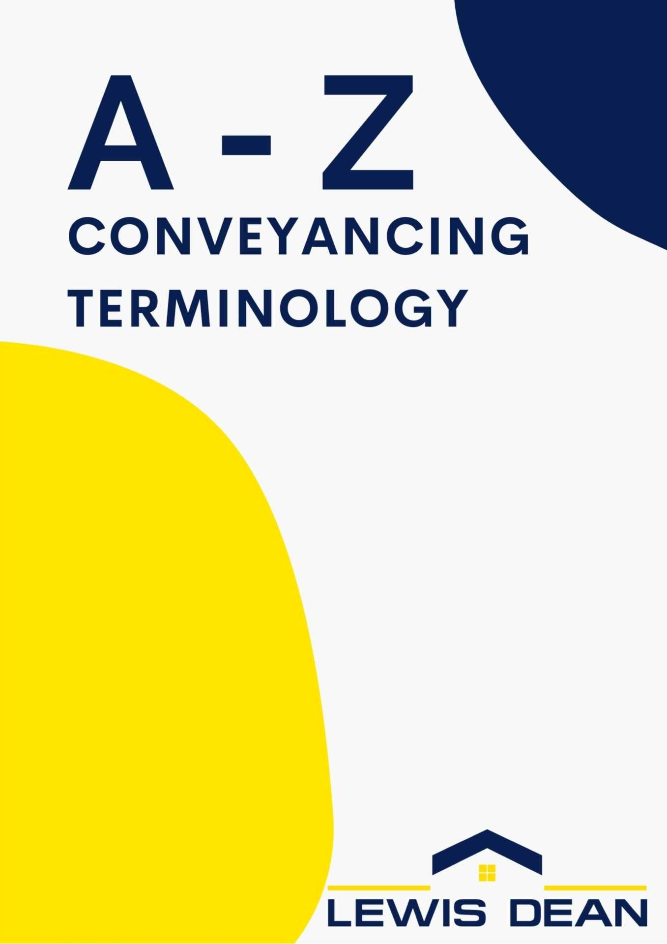 A-Z Of Conveyancing Terminology