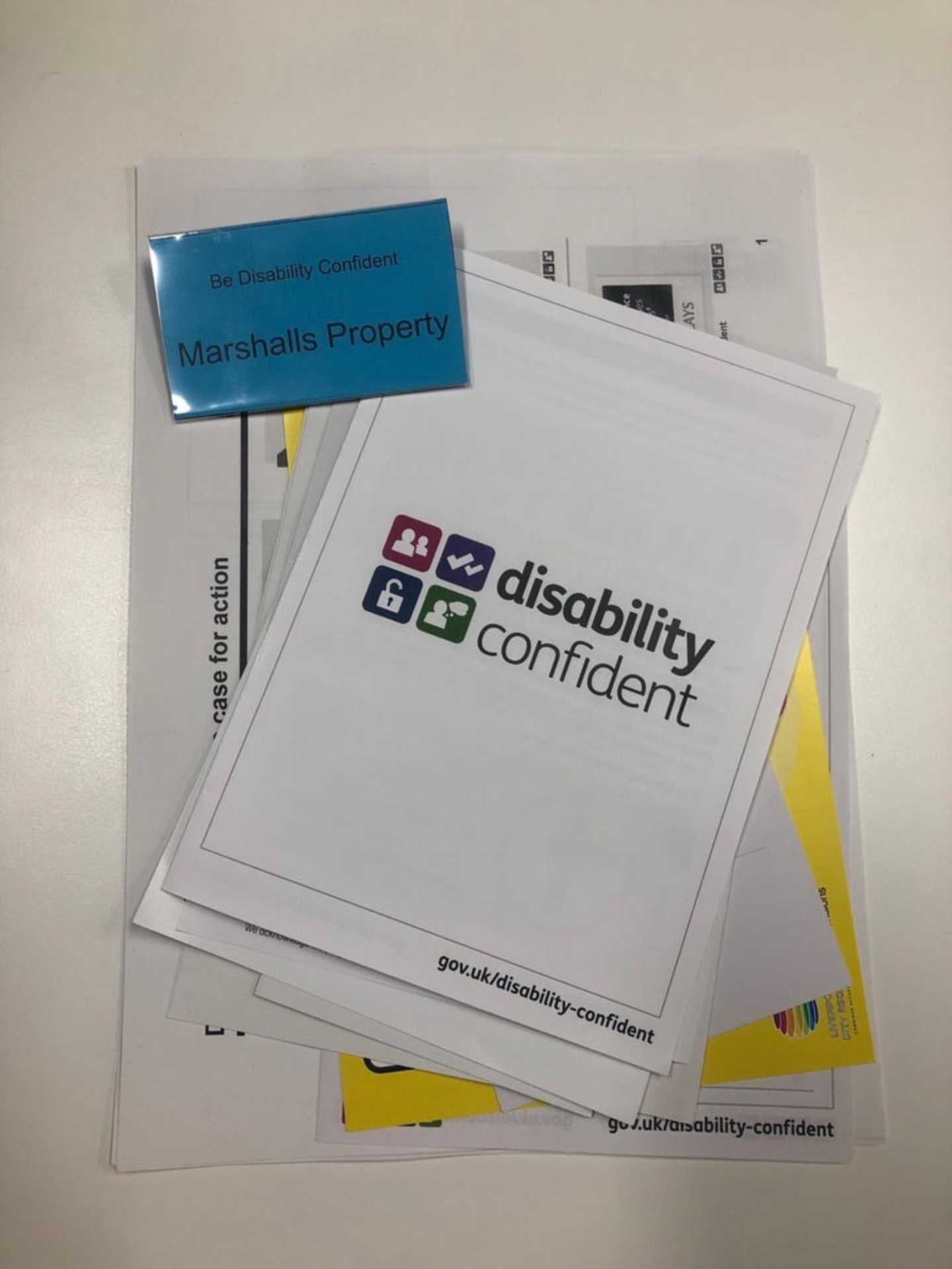 Marshall Group start their Disability Confident Journey