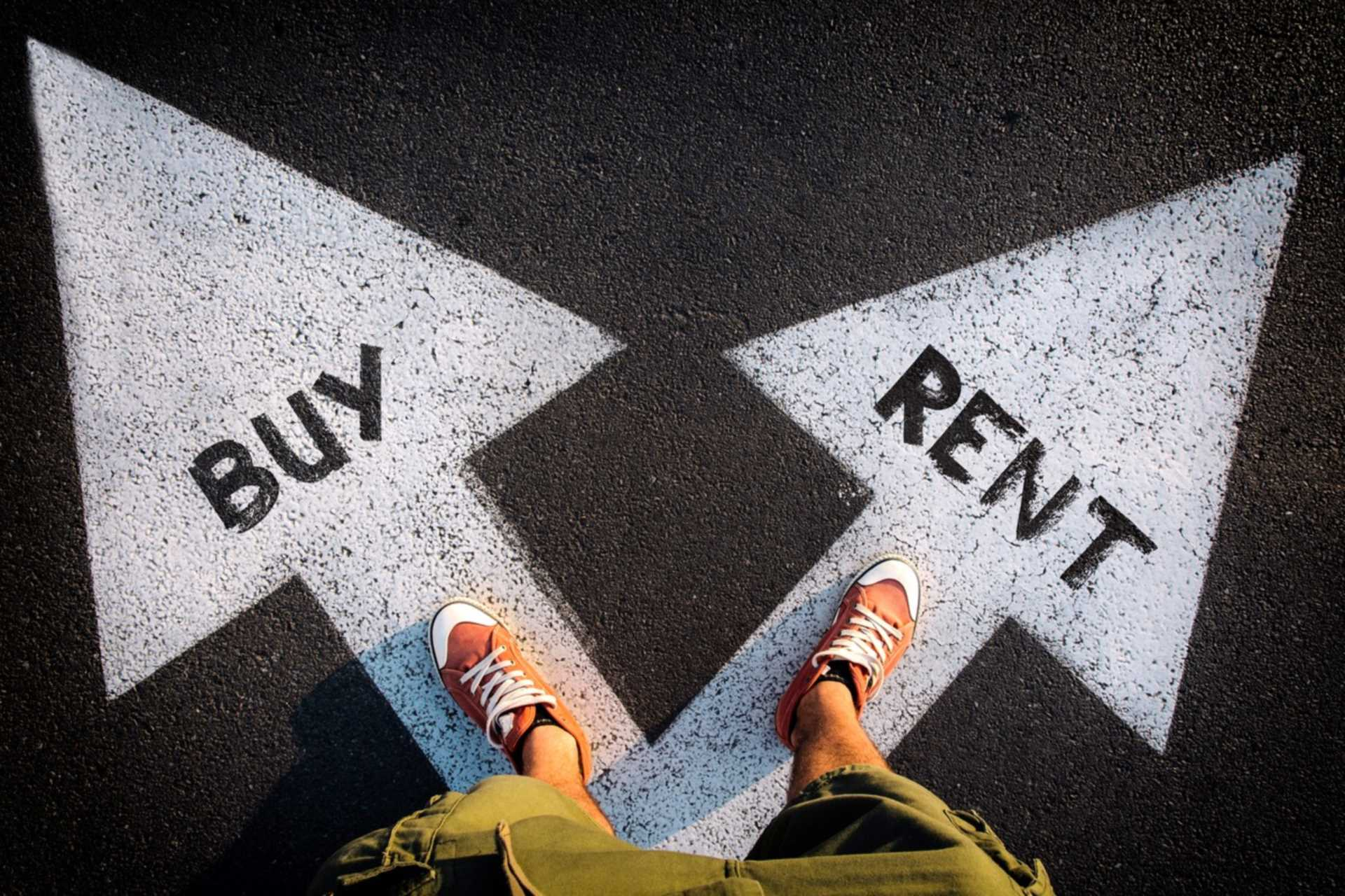 Is it better to rent or buy a property?