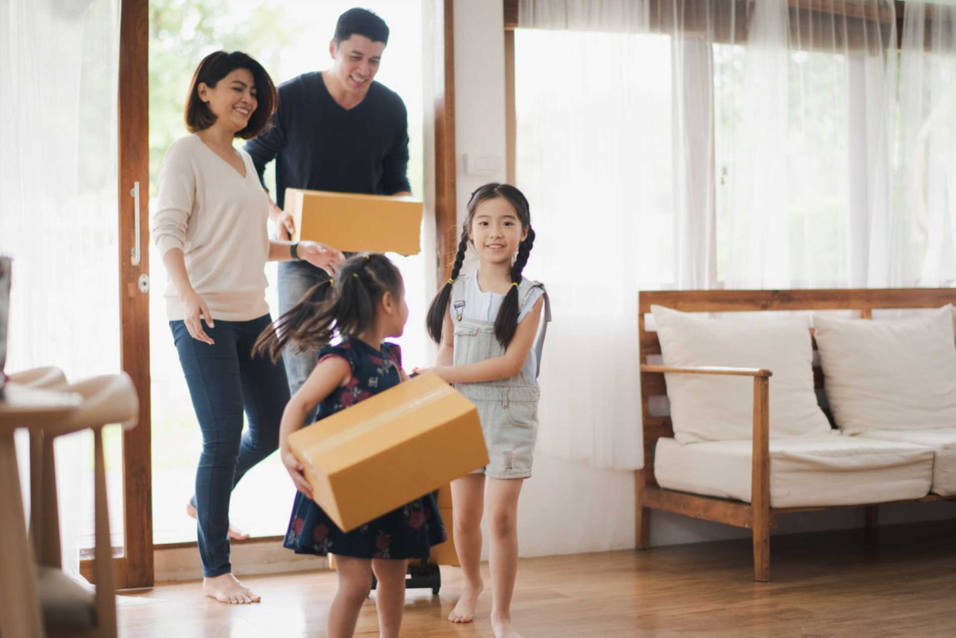 Making moving home with Children easier!
