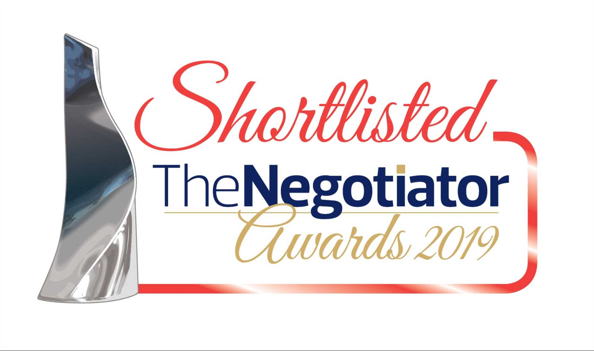 We have been shortlisted for the Negotiator Awards 2019