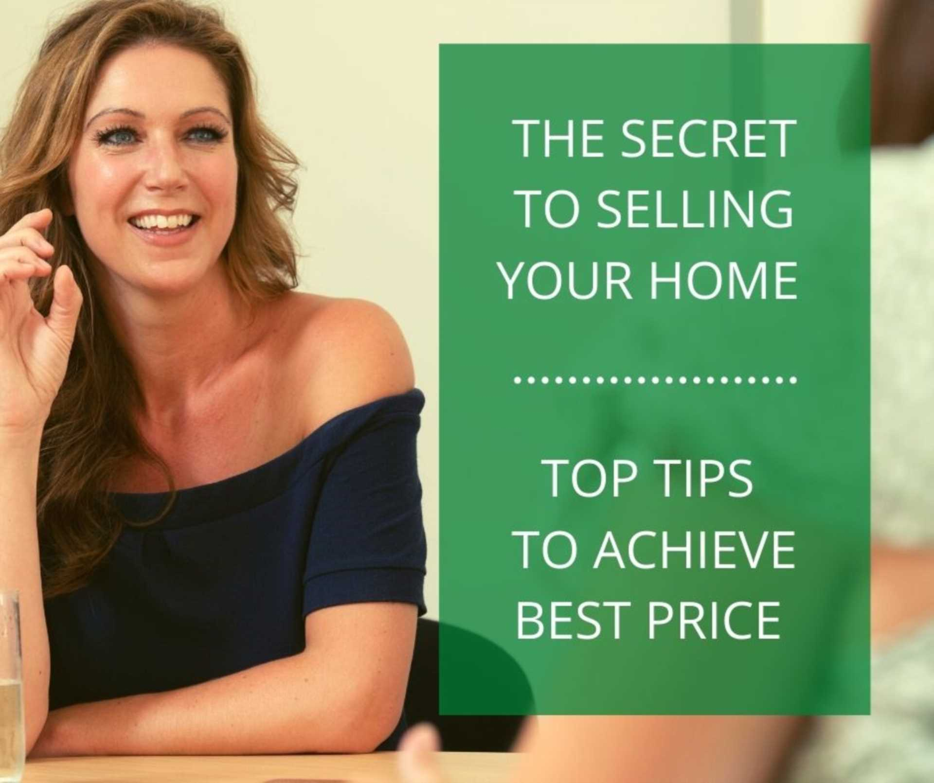 The Secret to selling your home for the best price and fast!