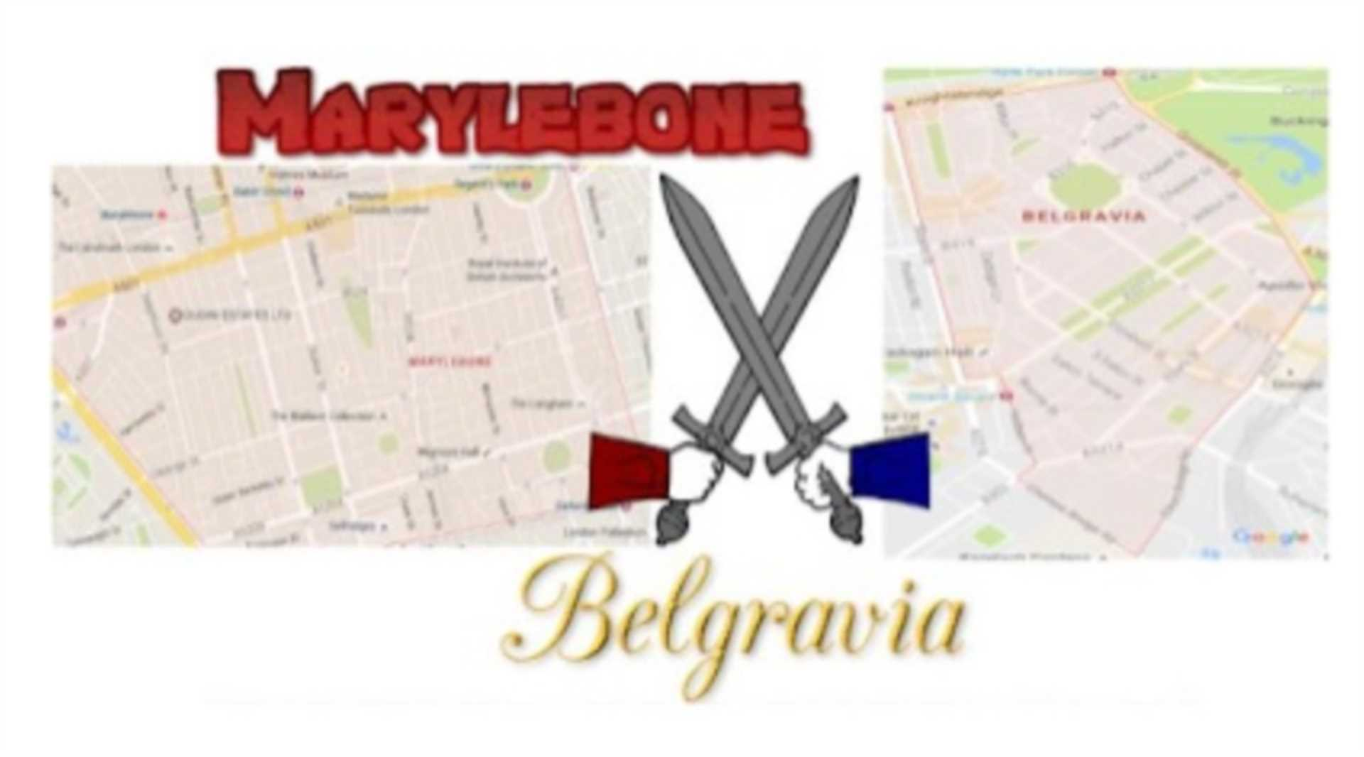 Marylebone VS their elite London rivals Belgravia – how far is the gap between property values as well as rental prices between the two areas, and what sort of capital growth rates have we witnessed over the last year?