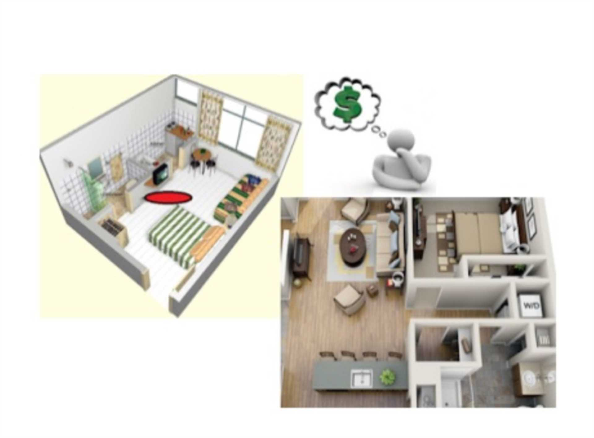 Studio`s or 1 bedroom properties, is there much difference between these property types? How do the two compare with each other in the property market and which one provides us with a more profitable investment prospect?