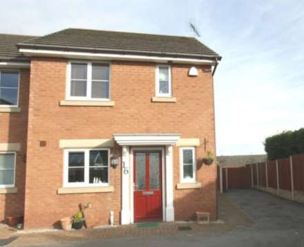 2 Bedroom Semi-Detached, Wilkinson Court, Buckley, CH7 2EW.