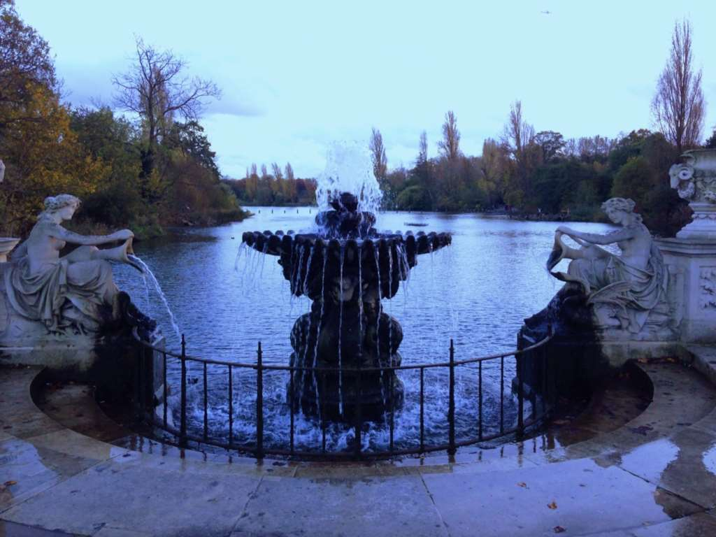 Keep your New Year`s Resolutions in one of London`s most iconic parks