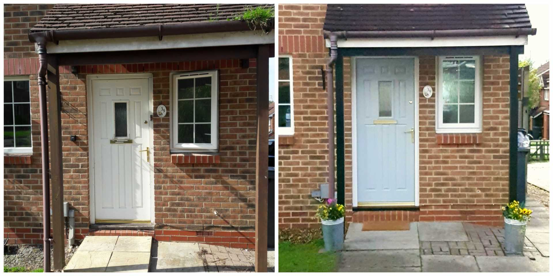 Curb Appeal – which door would you prefer to go through?