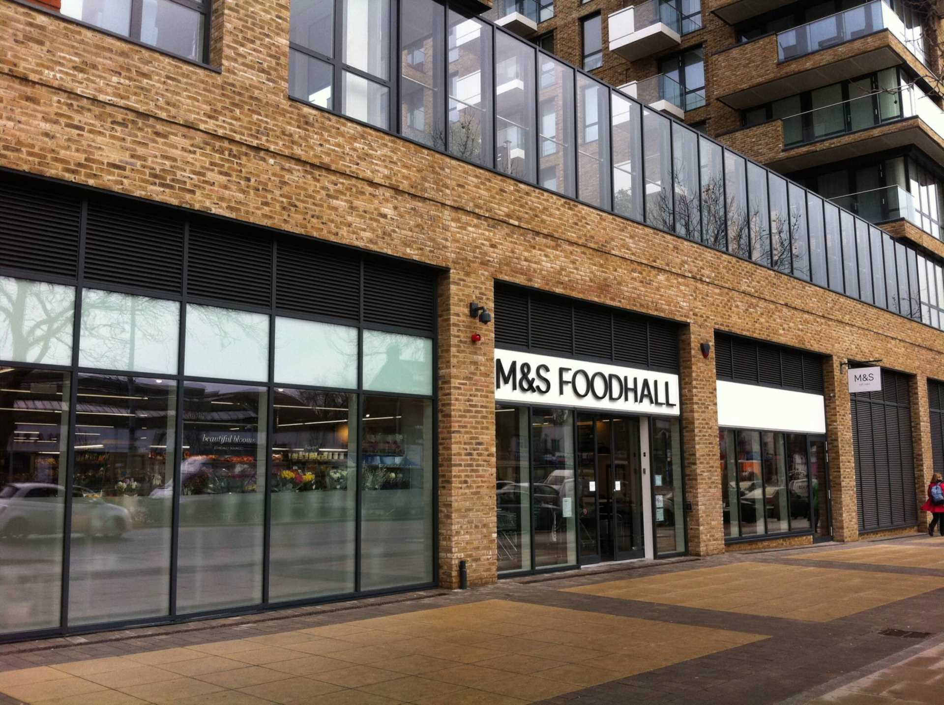 Marks and Spencers Opens in Royal Arsenal