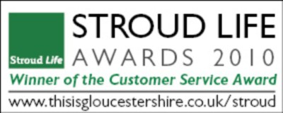Sawyers Win The Stroud Life Customer Service Award 2010