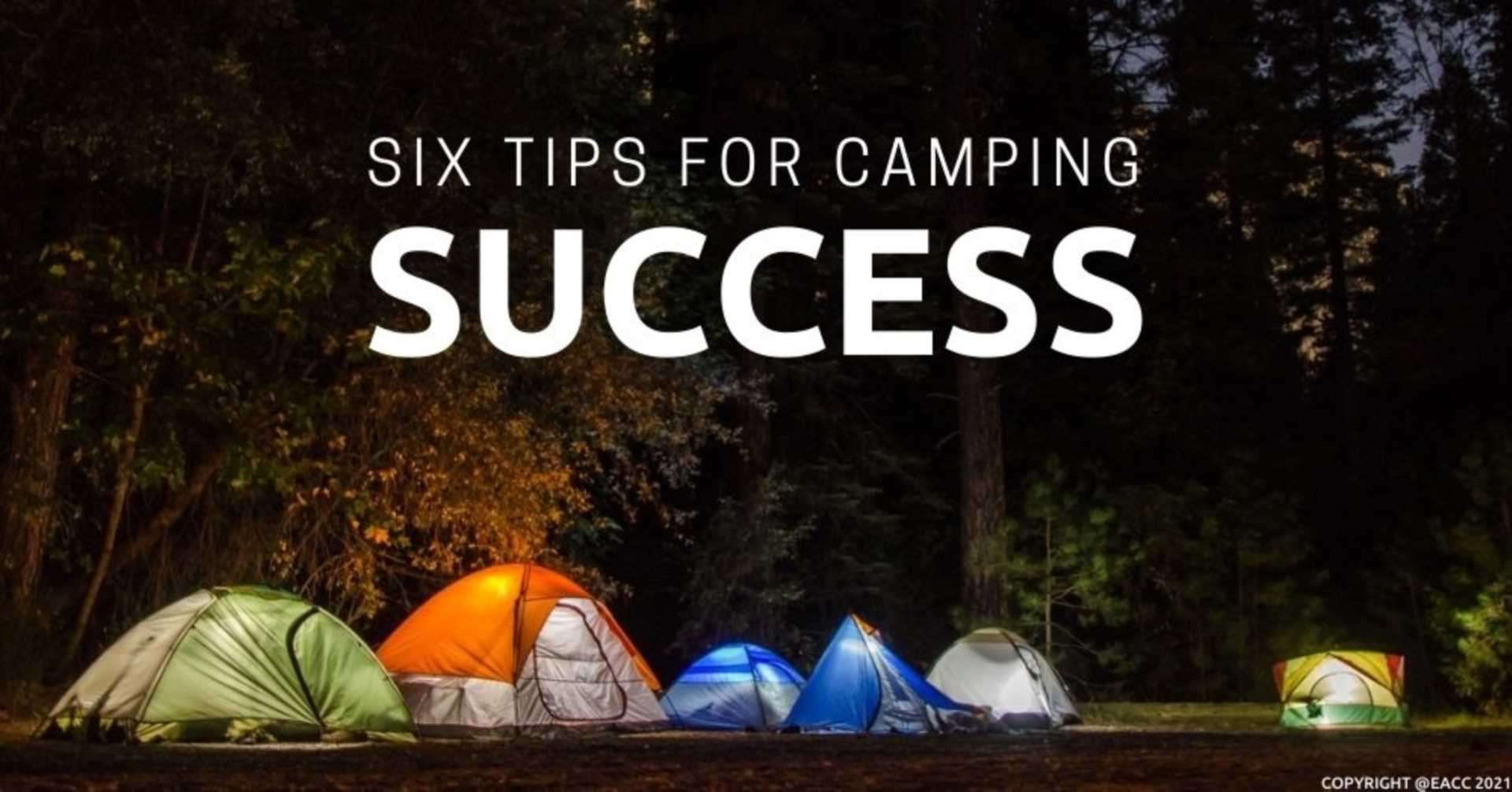 Six Top Tips for Camping Trips in Warwickshire