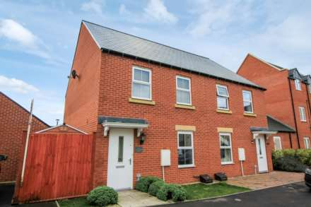 3 Bedroom Semi-Detached, Songthrush Road, Bodicote