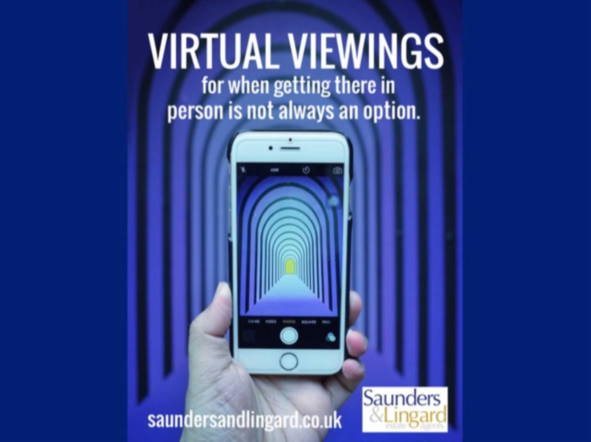 VIRTUAL VIEWINGS...