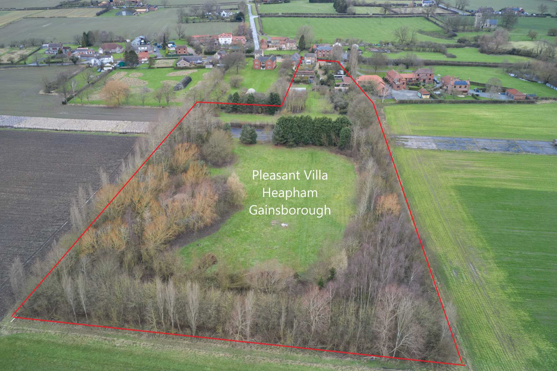 Pleasant Villa, Heapham, Gainsborough - with approx 6 acres sts., Image 2