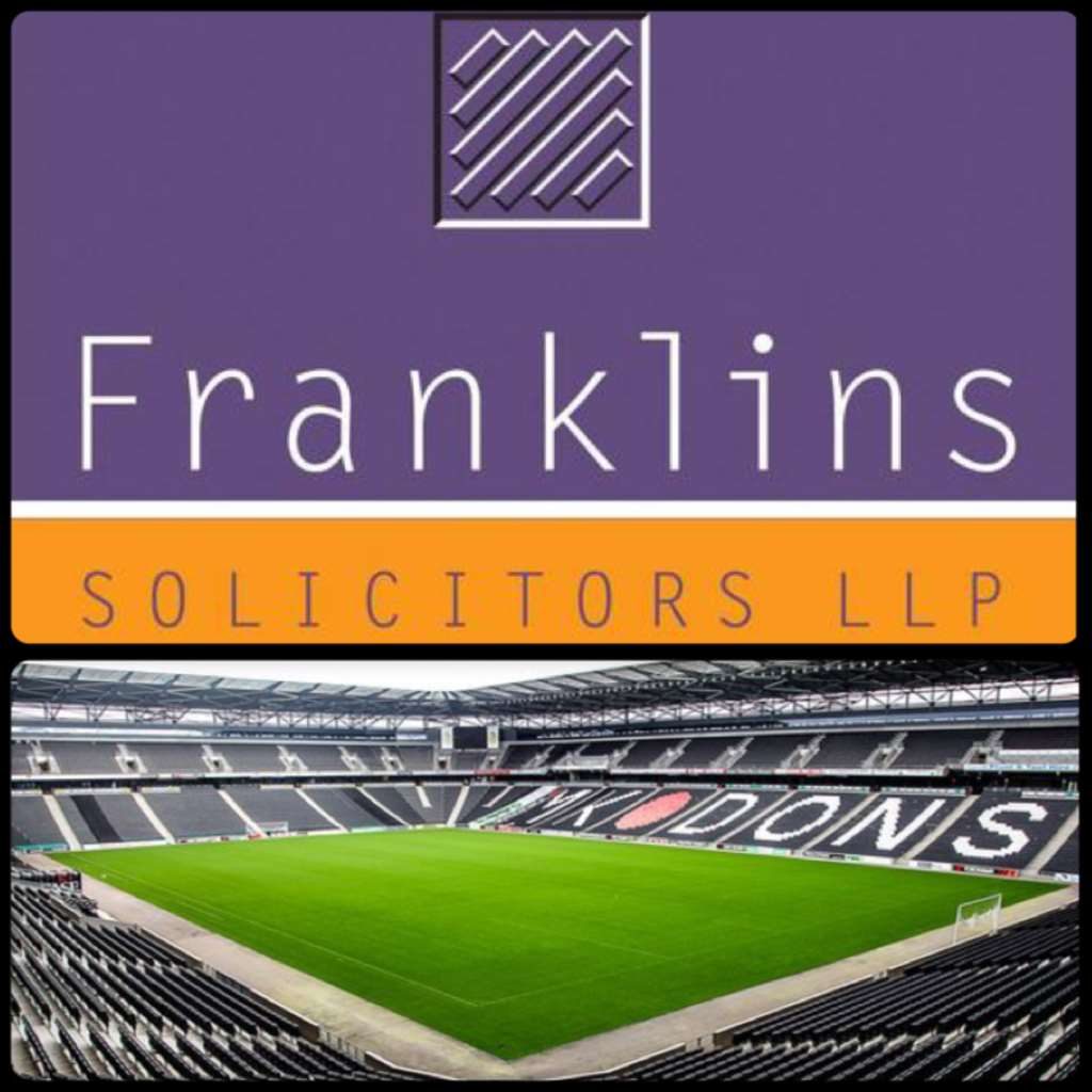 A night to forget for the Dons but a great night out for Team Taylor Walsh & Franklins Solicitors.