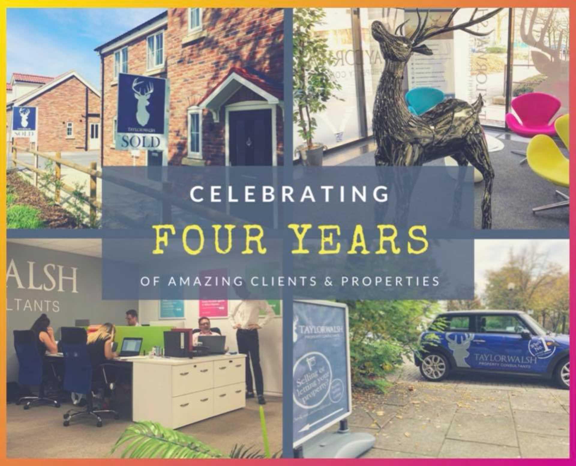 Celebrating 4 years