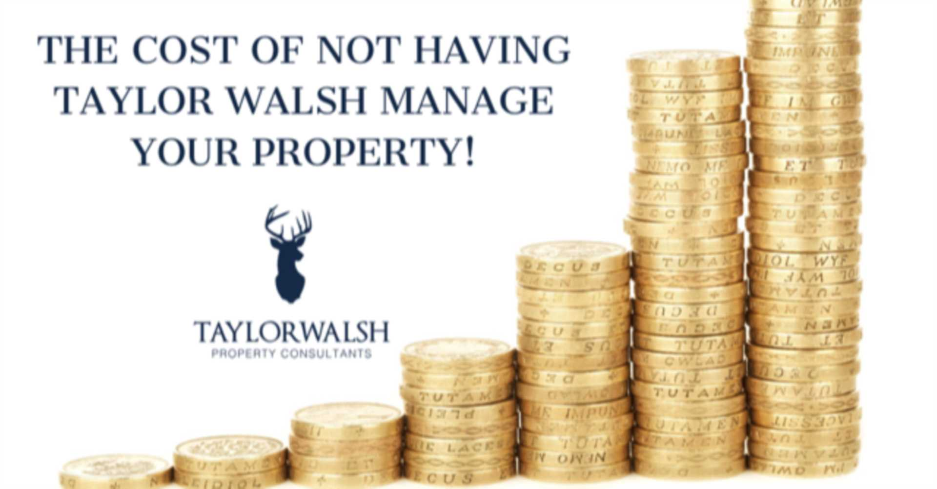 THE COST OF NOT HAVING TAYLOR WALSH  MANAGE YOUR PROPERTY!