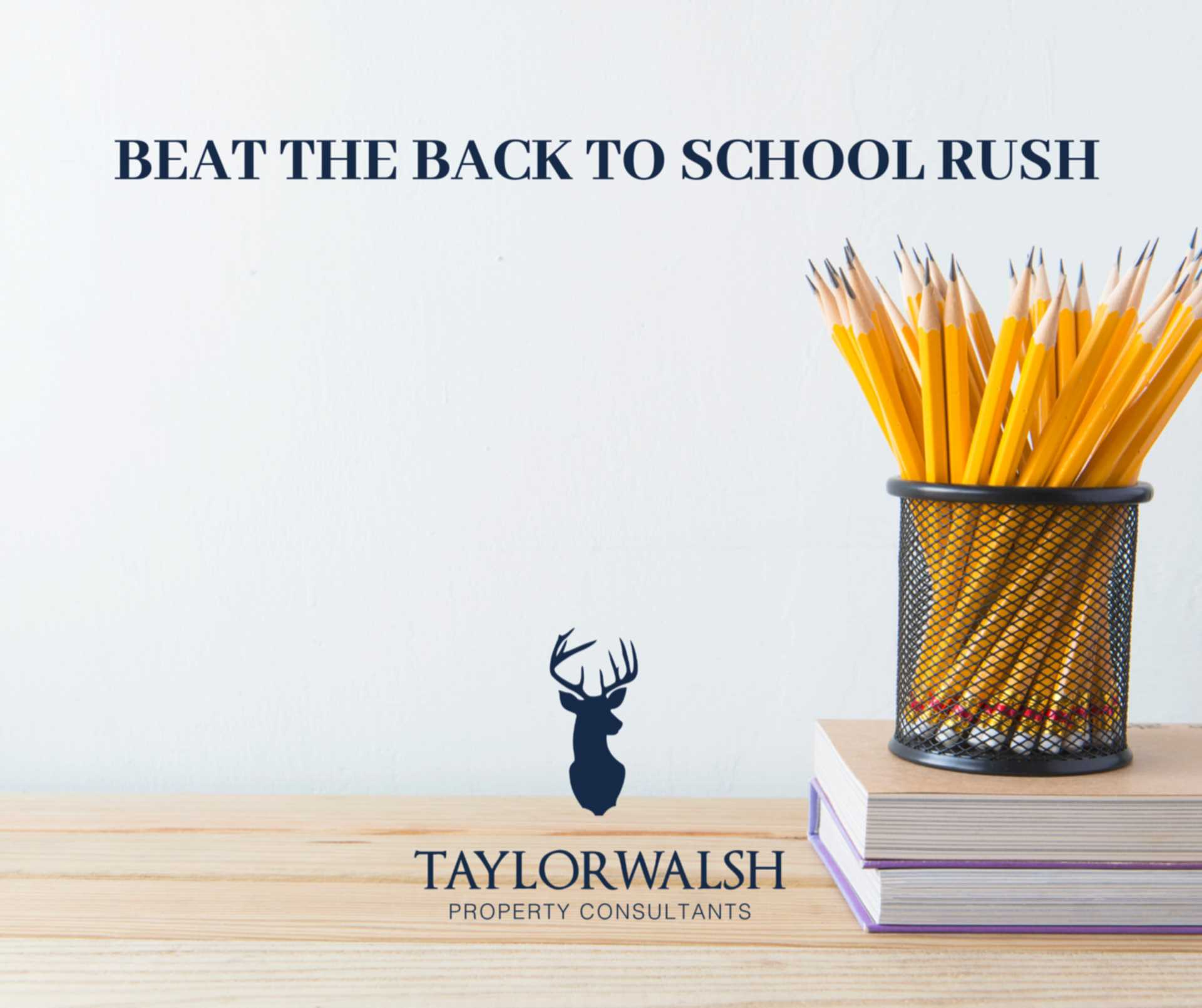 BEAT THE BACK TO SCHOOL RUSH