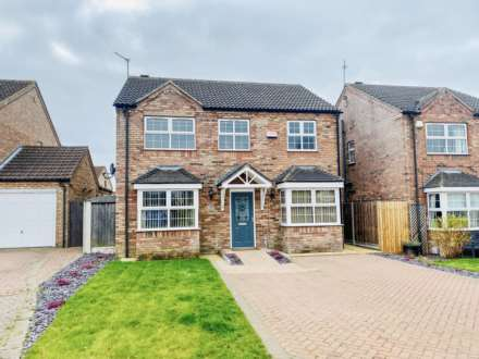 4 Bedroom Detached, Manor Way, Dunholme