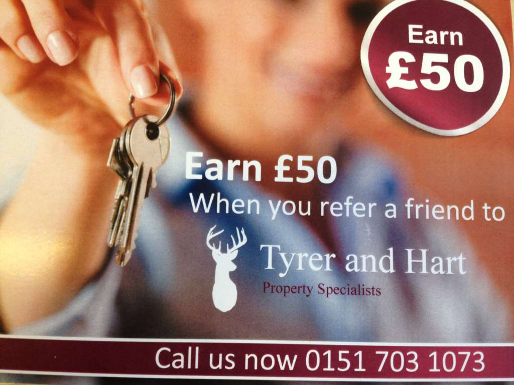 Earn £50 When You Refer A Friend To Tyrer & Hart