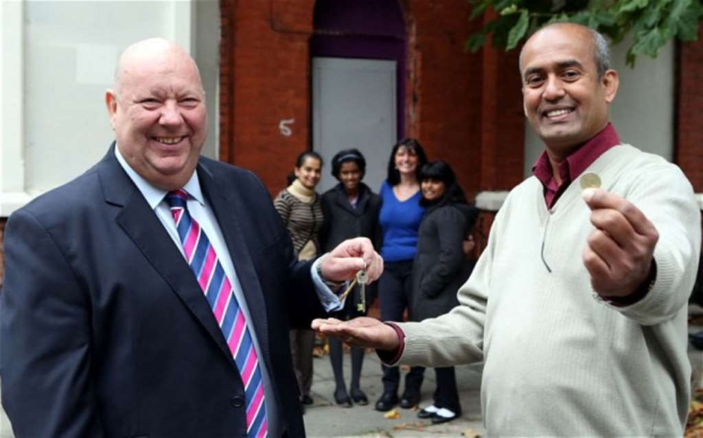 Owner Of First £1 Home Gets Keys