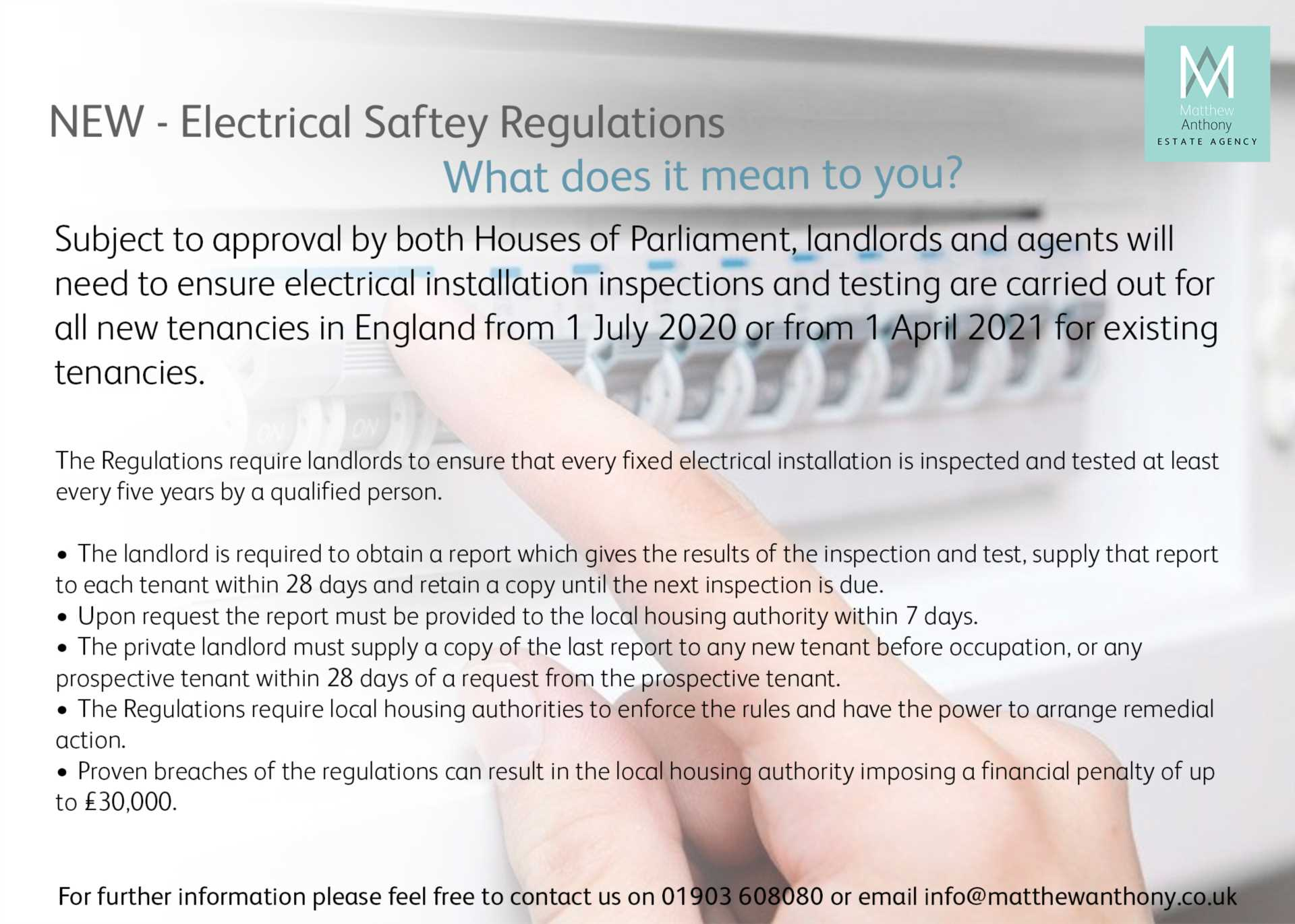 Electrical Safety Changes